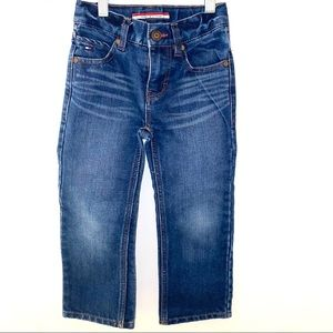 Tommy Hilfiger relaxed boys 4 dark jeans
